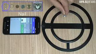 Turn your smartphone into a functional metal detector