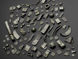 Silver Treasures consisting of over 100 objects of silver